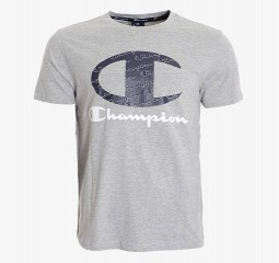 CHAMPION ALL OVER LOGO T-SHIRT CHA201M801-3A