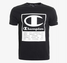 CHAMPION SQUARE LOGO T-SHIRT CHA201M802-01