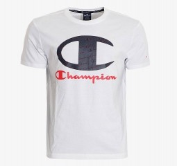 CHAMPION ALL OVER LOGO T-SHIRT CHA201M801-10